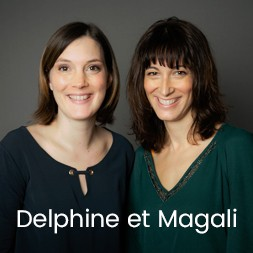 Delphine Richard et Magali Diaz